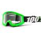 100% Strata Goggles grön
